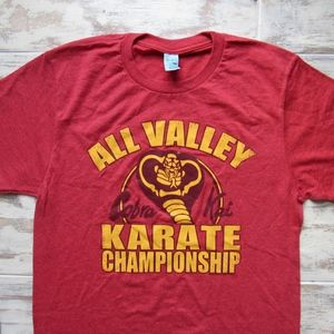 Karate Kid All Valley Champ Maroon Heather T-Shirt